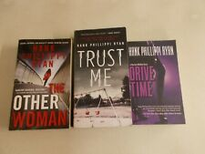 3 HANK PHILLIPPI RYAN OTHER WOMAN DRIVE TIME TRUST ME PAPERBACK