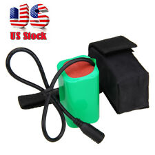 Rechargeable 16000mAh 6x18650 8.4V Battery Pack For X2 X3 T6 Bicycle Light Bike