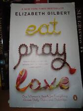 Eat Pray Love / Elizabeth Gilbert, paperback