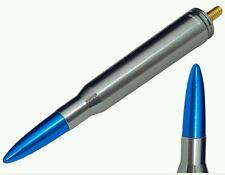 """Bullet Antenna 5.5"""" Gunmetal + Blue Tip For Your Toyota TRD FJ Cruiser Fits All"""