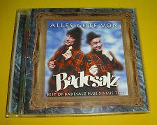 """CD """" BADESALZ - ALLES GUTE VON BADESALZ """" BEST OF / 36 TRACKS (GEREIZT)"""
