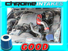 """RED BLUE 96-02 FORD CROWN VICTORIA/MERCURY GRAND MARQUIS V8 FULL AIR INTAKE 3.5"""""""