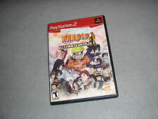Naruto Ultimate Ninja for Playstation 2 TESTED & WORKING Game in Original Case