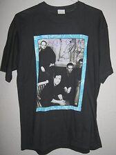 "SQUEEZE AUTHENTIC RARE 1991 PHOTO CONCERT ""PLAY"" TOUR SHIRT LARGE EX CONDITION"