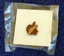 Apple Computer vintage Apple logo Lisa lapel pin new in original package