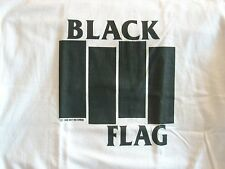 FREE SAME DAY SHIPPING BRAND NEW OLD SCHOOL PUNK BLACK FLAG BARS SHIRT LARGE