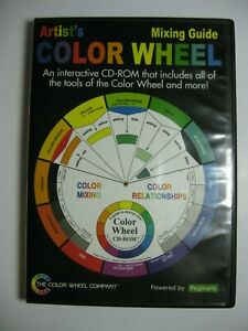 Artists Mixing Guide Color Wheel Interactive CD-ROM Explore Color Theory On PC