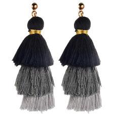 Fashion Bohemian Earring Women Long Tassel Fringe Boho Dangle Earrings Jewelry