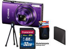 CANON IXUS 285 HS Purple 32GB KOMPLETTSET DIGITALKAMERA 285HS ****