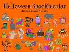 Halloween Machine Embroidery Design Patterns Formats PES HUS JEF SEW XXX VIP VP3