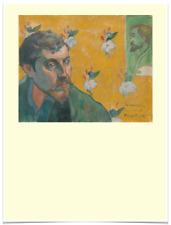 PAUL GAUGUIN LES MISERABLES FLOWER YELLOW LIMITED EDITION BIG BORDERS ART PRINT