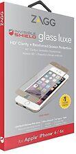 ZAGG iPhone 6s & 6 InvisibleShield Vetro Temperato Protezione Schermo HD Luxe Oro