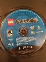 LEGO Rock Band Sony PlayStation 3 PS3 Video Game DISC ONLY FREE S/H
