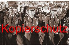 A41 Armeegeneral Erich Mielke Keßler GO Streletz Foto Sepia 20x30 cm