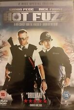 Universal Studios HOT FUZZ with Simon Pegg & Nick Frost 2,4 PAL DVD