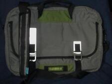 TIMBUK2 Laptop Messenger Bag  Gray w/Green NICE