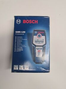 Bosch GMS120 Professional Cable Stud Wire Pipe Metal Detector Locator Finder