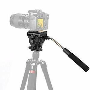 NEEWER (pro version) Fluid video head Camera head + Quick release plate