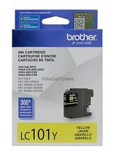 Brother LC101Y Yellow Ink Cartridge DCP-J132W Genuine New