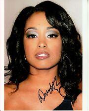 DAVETTA SHERWOOD hand-signed BEAUTIFUL 8x10 CLOSEUP authentic w/ UACC RD COA