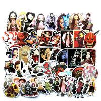 50+pcs Demon Slayer Kimetsu no Yaiba Decal Sticker for Skateboard/Luggage/Laptop