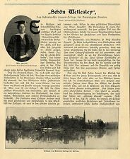 Wellesley (the most important Women-college of USA) Historical Memorabilia 1903