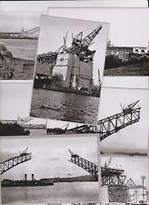 SYDNEY Harbour Bridge construction seven (7) Set modern digital photo Postcards