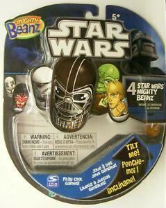 Mighty Beanz Star Wars The Clone Wars 4 pack Moose, new mace windu + 3 blind