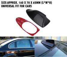 1x Universal Car Shark Fin Roof Antenna Radio FM/AM Decorate Aerial Black