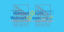 HO Scale Walmart Trailer Decal Set