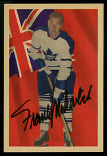 1963-64 PARKHURST HOCKEY~#77~FRANK MAHOVLICH~AUTOGRAPHED~CENTERED~SHARP