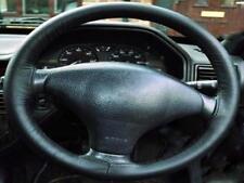 Peugeot 206 copri volante in vera pelle nera