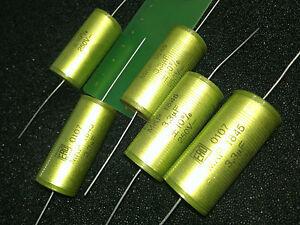 [5 pcs] VISHAY-ROEDERSTEIN MKP1845 3.3uF 250V  Polypropylene Capacitors Axial