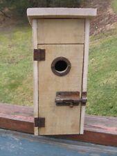 Rustic Chickadee Bird House
