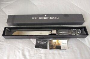 WATERFORD Crystal Bridal Wedding Cake Knife