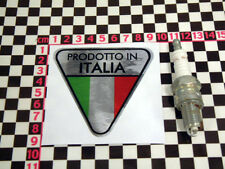 Made in Italy Chrome Sticker- Fiat Alfa Romeo Lancia 500 126 GTV Delta Fulvia