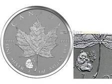 10 x$ 5 Dollar Maple Leaf Privy Mark Panda 1 oz silver Canada 2016 Rev. Proof