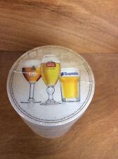 Stella Artois Leffe Hoegaarden Best of Belgium Coasters - 125 Pack - New &FShip.
