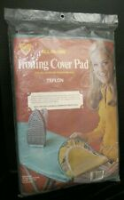 Vintage Ironing Board Cover & Pad #545 Teflon By Hemlast All In One New!