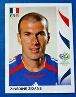 Panini WORLD CUP 2006 Sticker ZINEDINE ZIDANE FRANCE