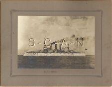 Large (9.0 x 7.0) Pre WWI US Navy RP- Battleship- USS Georgia- BB 15- Hampton VA
