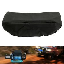 Black Waterproof Winch Capstan Dust Cover Trailer Driver Recovery 8000-17500lbs