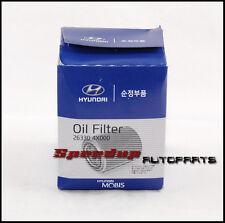 5 x OEM Genuine Oil Filter for Hyundai H1 / Kia Sorento 2.5L Diesel 26330-4X000