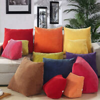 Triangle Waist Cushion Lumber Pillow Backrest Pad Office Sofa Decor Winter Warm