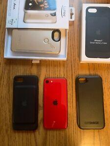 Apple iPhone SE 2nd Gen Red 64GB - (Verizon) MX9Q2LL/A (CDMA + GSM) w/extras