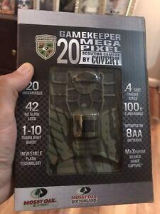 Game Keeper 20 megapixel (Mossy Oak) Scouting Camera by Covert NIB! Free Ship!