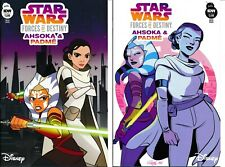 Star Wars Forces of Destiny Ahsoka & Padme 1 Regular and Variant 2018 IDW