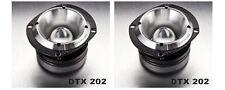 DRAGSTER DTX 202 serie EXTREME- TWEETER TITANIO 200 watts competzione SPL COPPIA