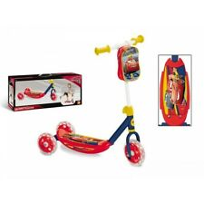 Trottinette Cars Disney Trottinette à 3 roues avec sac cars