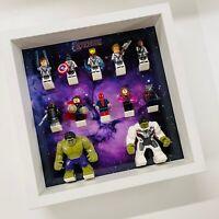 Display Frame for Lego Marvel Avengers minifigures no figures 27cm